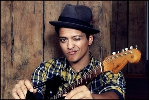 Bruno Mars – My Musical Crush at the Moment