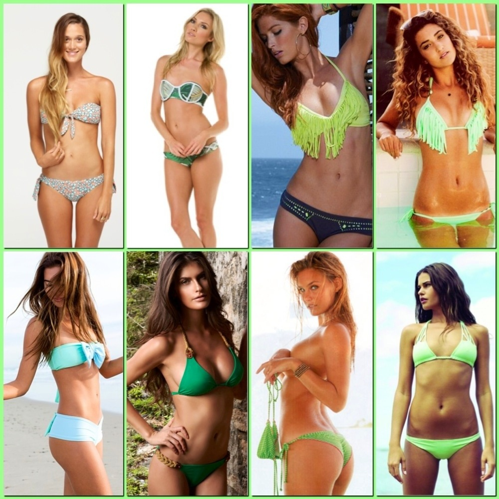 St. Patricks's Day Wouldn't Be Complete Without A Green Bikini