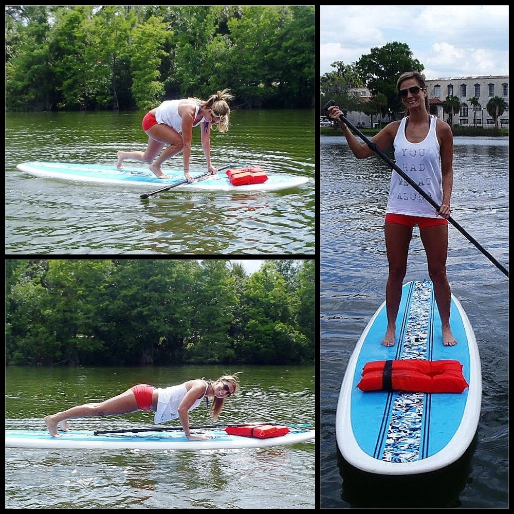 Standup and Shout for Paddleboarding