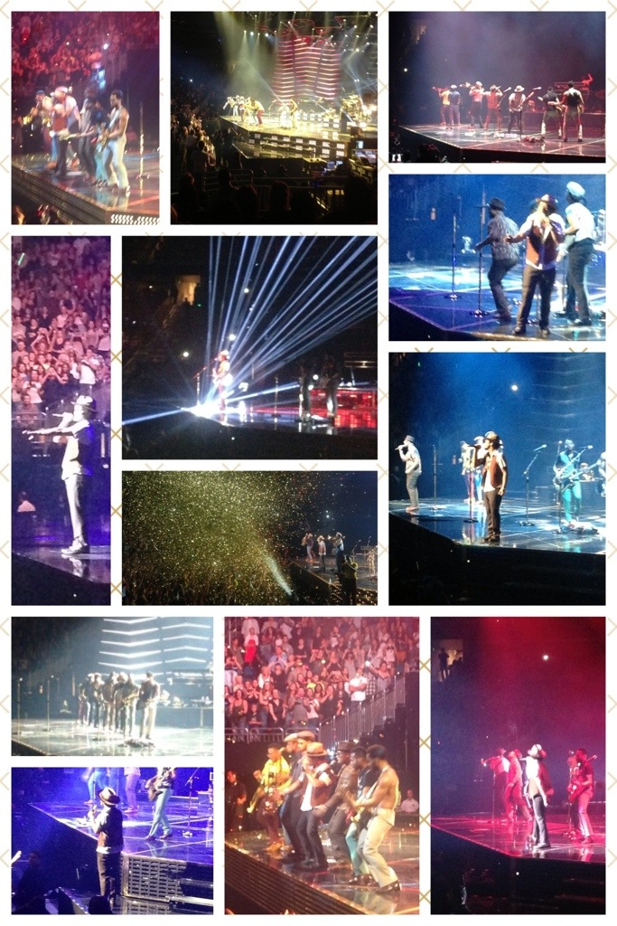 Bruno Mars ~ A Solid Gold & Glittery Performance