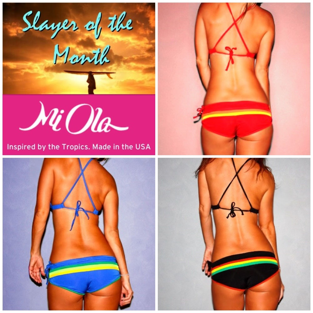 September 'Slayer Of The Month' Bikini Giveaway