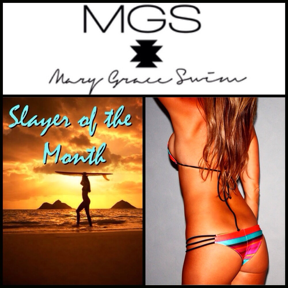 October 'Slayer Of The Month' Bikini Giveaway