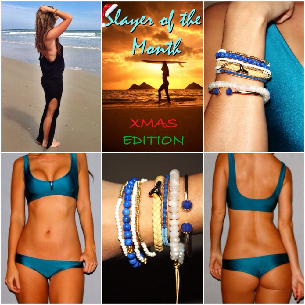 December 'Slayer Of The Month' Bikini Giveaway ~ Our Biggest Contest Ever!!!