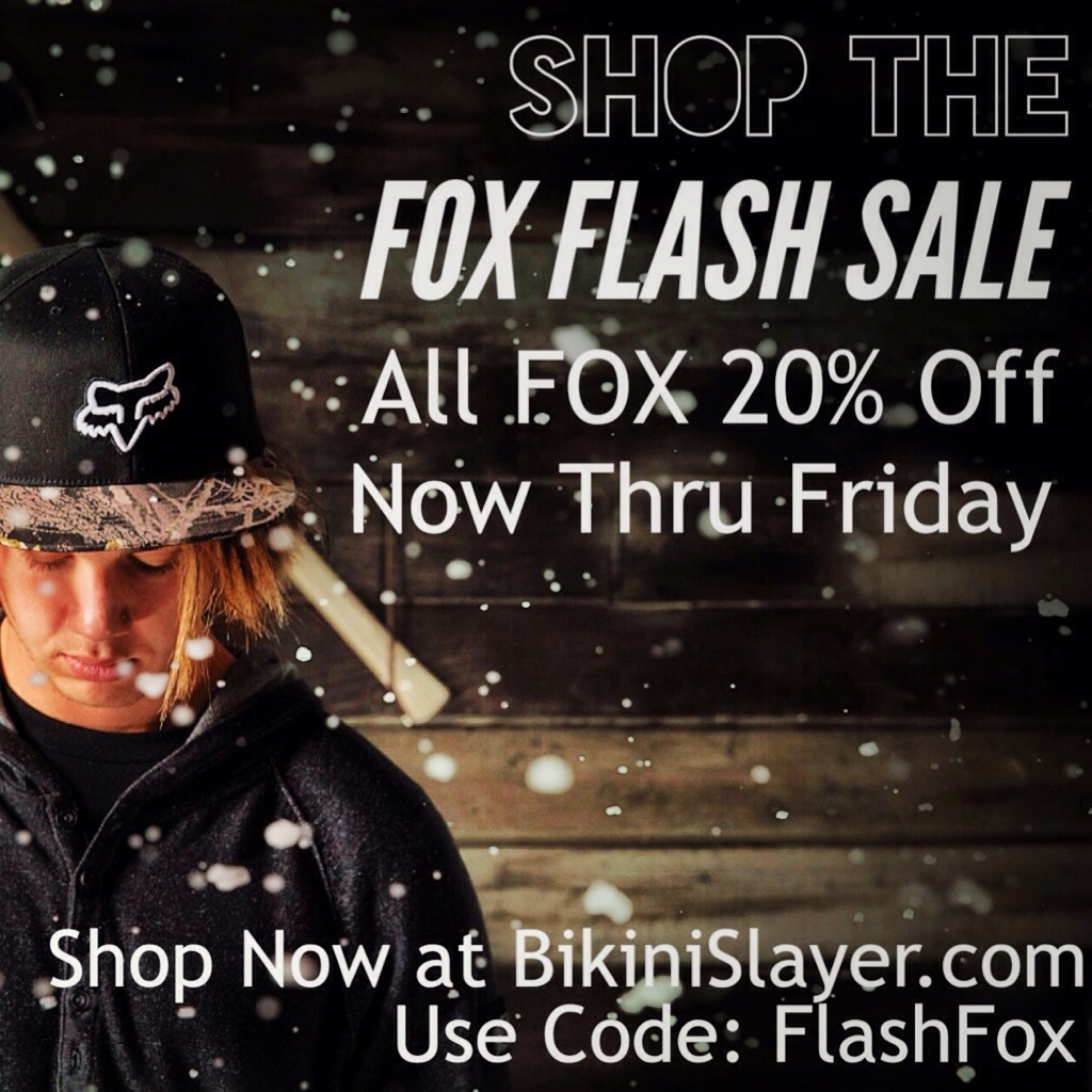 The FOX Flash Sale – Grab It While It's Hot!!
